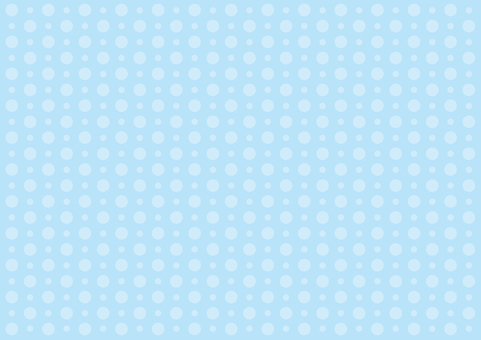 Wallpaper - large and small polka dots - blue