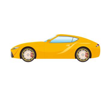 Sports car illustration 3