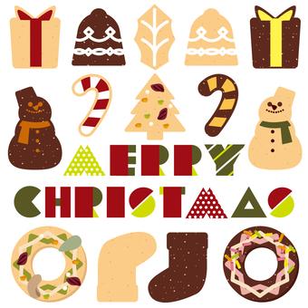 Christmas cookie set 01