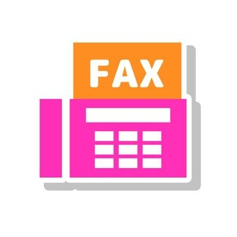 팩스 아이콘