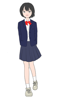 High school girl
