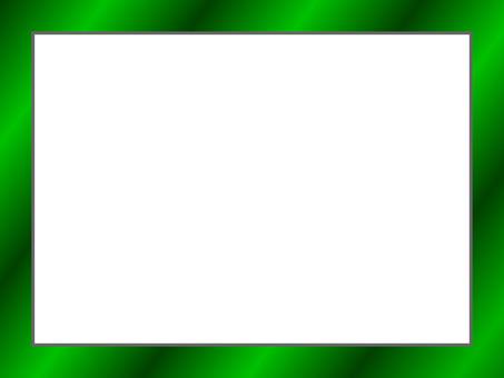 메시지 카드 (녹색)