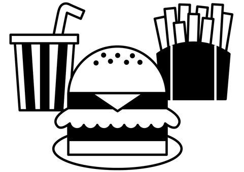 햄버거 1c