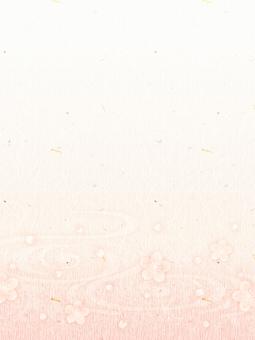 背景(和紙_桜03_縦)