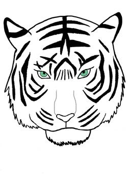 White tiger · tiger