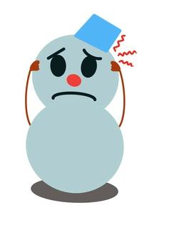 Headache snowman