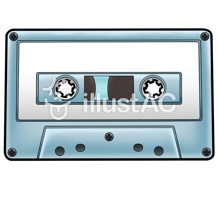 カセットテープイラスト No 1139668無料イラストならイラストac