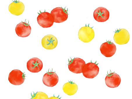 Cute cherry tomatoes