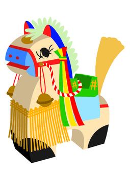チャグチャグ馬コの民芸品