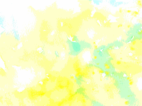 Watercolor Background Yellow Green