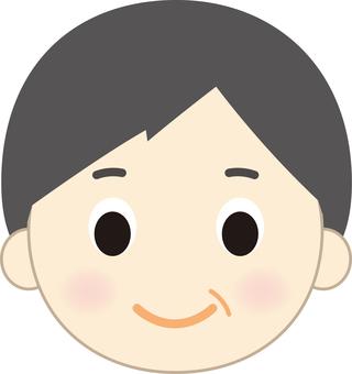 Older male face