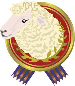 Dandibles sheep tokkaru emblem