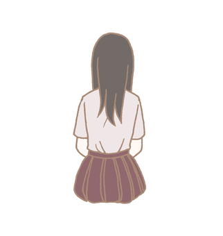 Back view girl 2