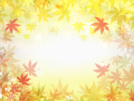 Autumn leaves and paper background 161008