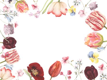 꽃, 꽃 꽃 프레임 - 프레임