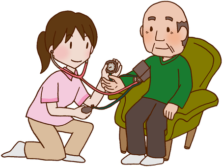 【Medical】 Blood Pressure Measurement