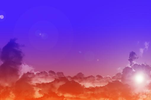 02 저녁 하늘