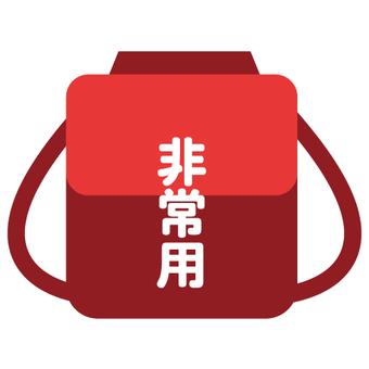 Disaster prevention goods (backpack rucksack)