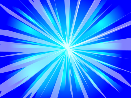 Backlight Blue Projection Background