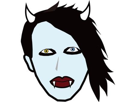 American Halloween makeup 4