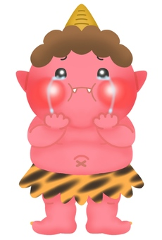 Cute red demon (whole body) 3