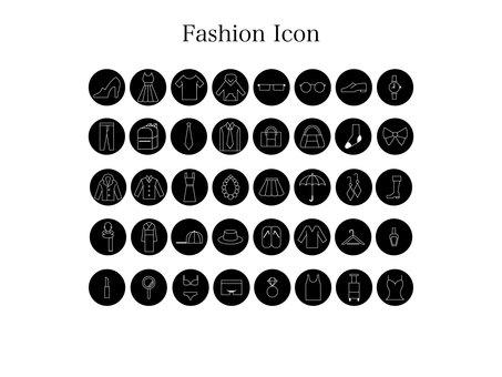 Fashion icon (black frame)
