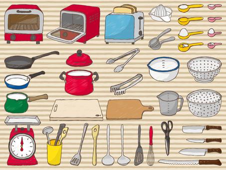 Kitchen tool Graffiti style