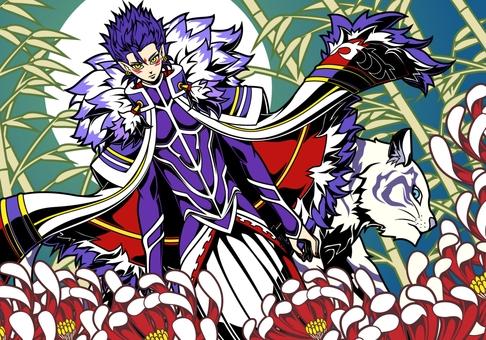 Purple Emperor ー white tiger