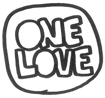 one love  ワンラブ logo