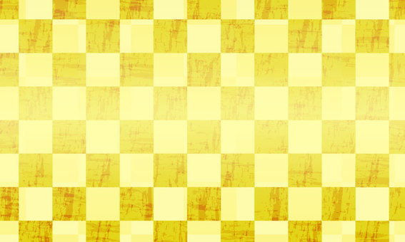 Gold foil checkered