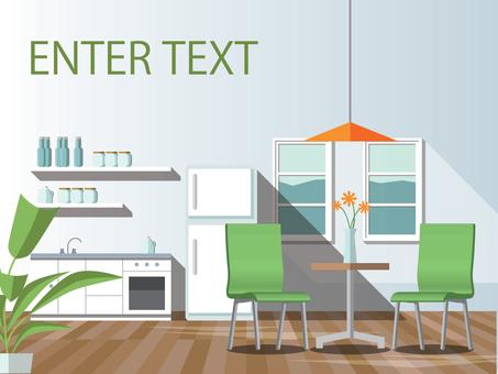 Interior (dining / kitchen)