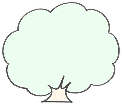 Big tree memo color tree