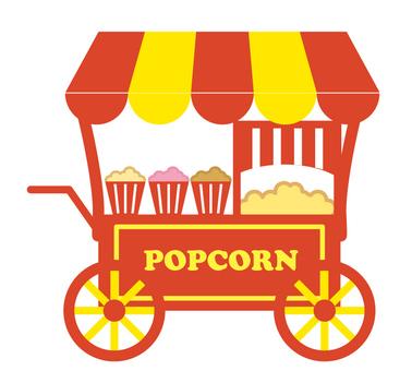 Pop-corn stand