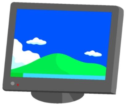 VGA monitor