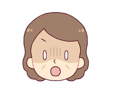 面部表情 -  Guern(中年女性)