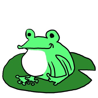 Frog that hungry