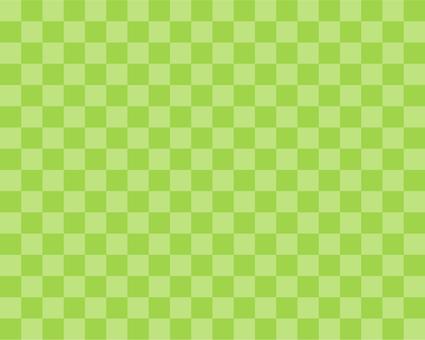 2 color check - yellowish green