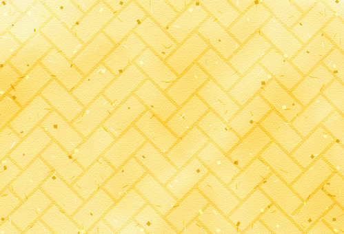 Japanese Pattern Background / Hinakage / Gold