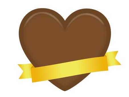 Heart's chocolate