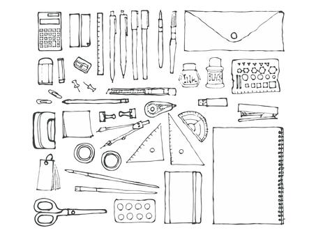 Hand-drawn stationery