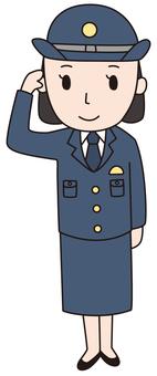 Police officer female