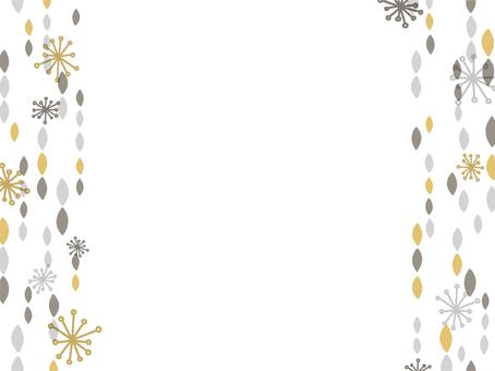 Scandinavian pattern frame