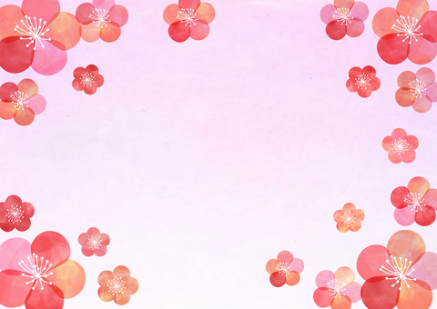 Plum _ Pastel _ Washi _ Background
