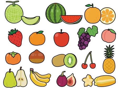 果物 線あり 詰め合わせセット