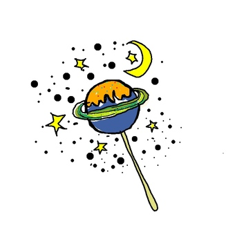 우주 사탕 2
