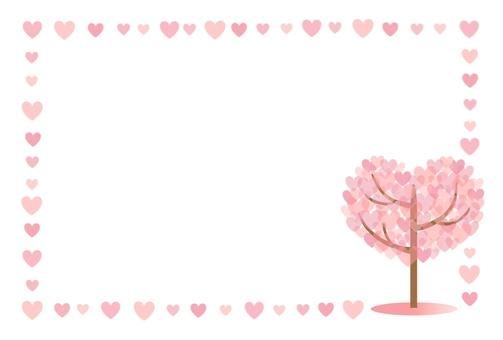 Heart shaped tree frame (Heart)