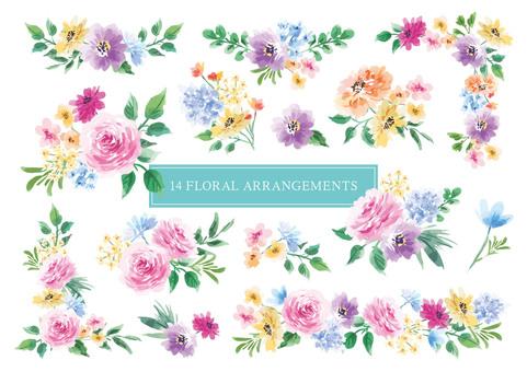 14 floral