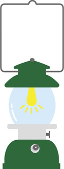 Camping and other lanterns (green)