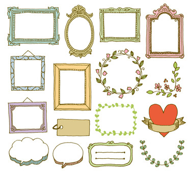 Antique frame color
