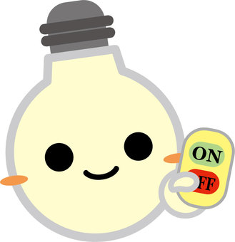 Power saving light bulb / electric